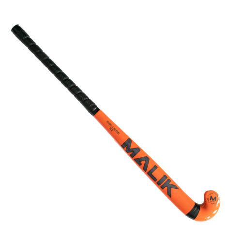 """Malik College Orange Wooden Hockey Stick 32"""""""