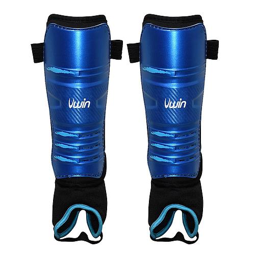 Uwin Blue Hockey Shinguards
