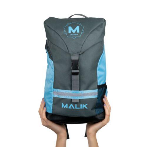 Malik Arrow Blue Hockey Backpack