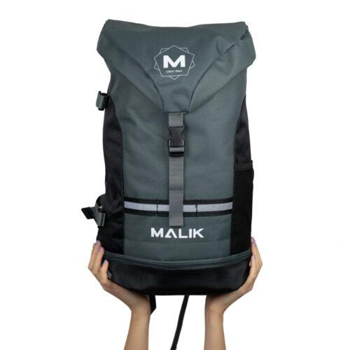 Malik Arrow Grey Hockey Backpack