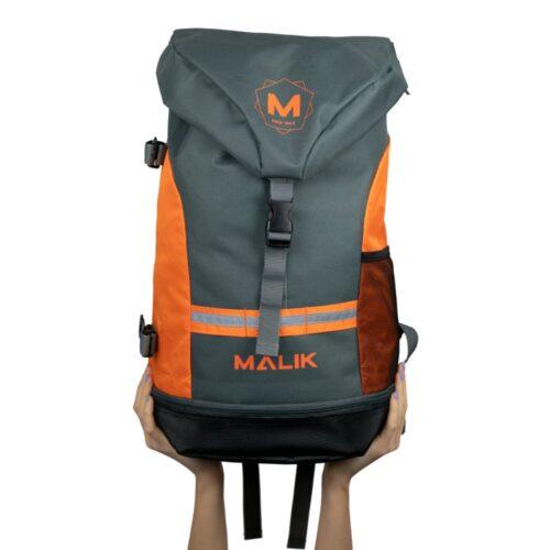 Malik Arrow Orange Hockey Backpack