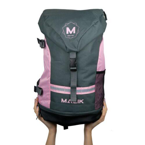 Malik Arrow Pink Hockey Backpack