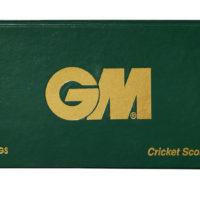 Gunn and Moore 60 innings Cricket Scorebook