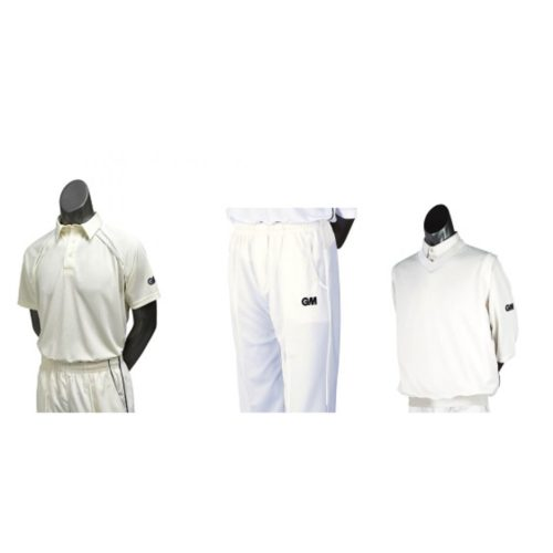Junior Cricket Clothing Pack - Pants, Shirt and Slipover