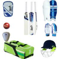 Kookaburra Junior Cricket Bat & Equipment Pack