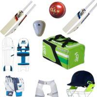 Kookaburra Junior Starter Cricket Bat and Equipment Pack