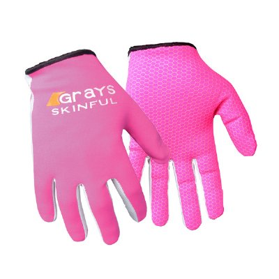 Grays Skinful Hockey Gloves Pink Pair