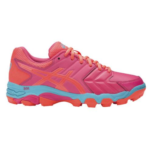 Asics Gel Blackheath 6 Ladies Hockey Shoes Rouge Red/Flash/Coral