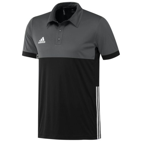 Adidas T16 Mens Clima Polo Black\Grey