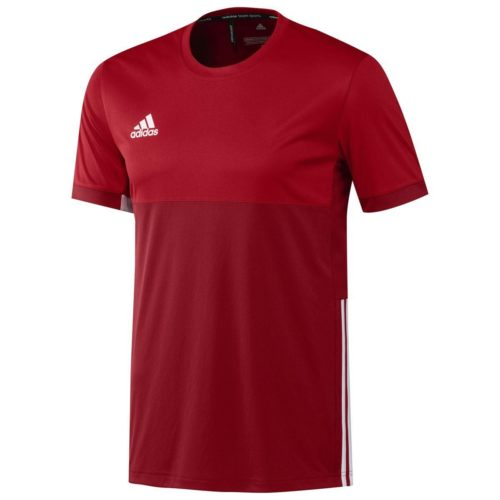 Adidas T16 Mens Clima Tee Red\Scarlett