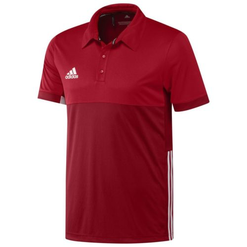 Adidas T16 Mens Clima Polo Red\Scarlett