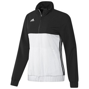 Adidas T16 Ladies Team Jacket Black\White