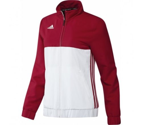Adidas T16 Ladies Team Jacket Red\White