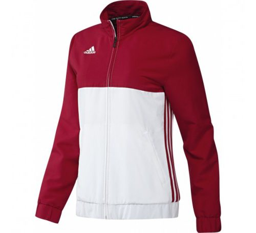 Adidas T16 Ladies Team Jacket Red\White