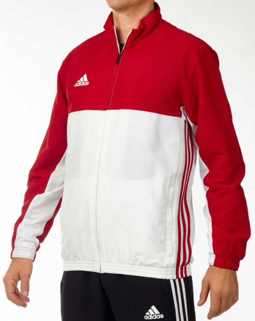 Adidas T16 Mens Team Jacket Red\white