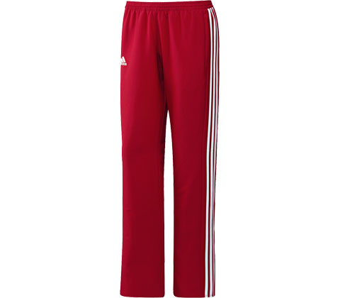 Adidas T16 Ladies Tracksuit Pants Red