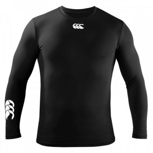 Canterbury Cold long sleeve baselayer (JNR): Black