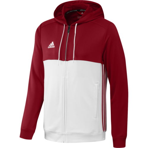 Adidas T16 Mens Hooded sweatshirt Red