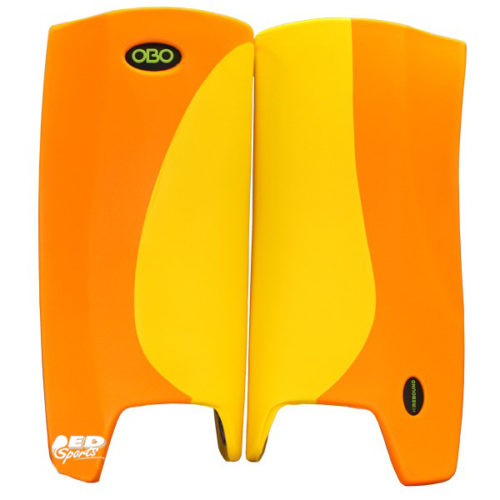 OBO Robo Hi-Rebound Legguards Orange Wing Yellow