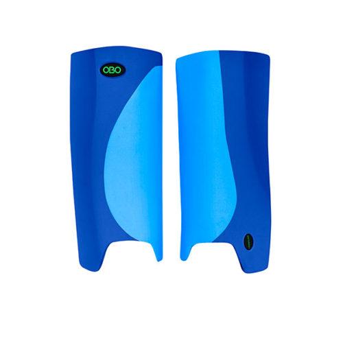 OBO Robo Hi Rebound Hockey Goalkeeping Legguards - Peron/Blue