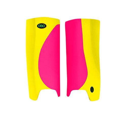 OBO Robo Hi-Rebound Legguards Yellow Wing Pink