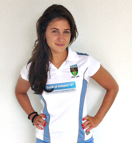 UCD Ladies Hockey Club Shirt