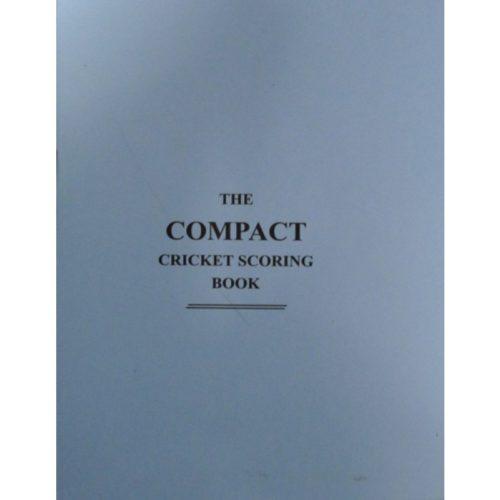 Compact Cricket Scorebook