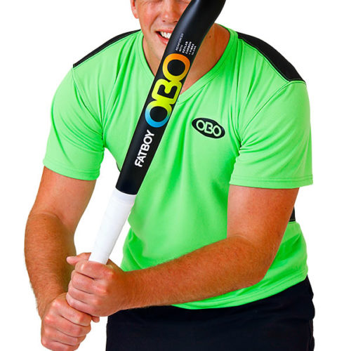OBO Green/Black Tight Fit Poly Hockey Goalkeeping Smock