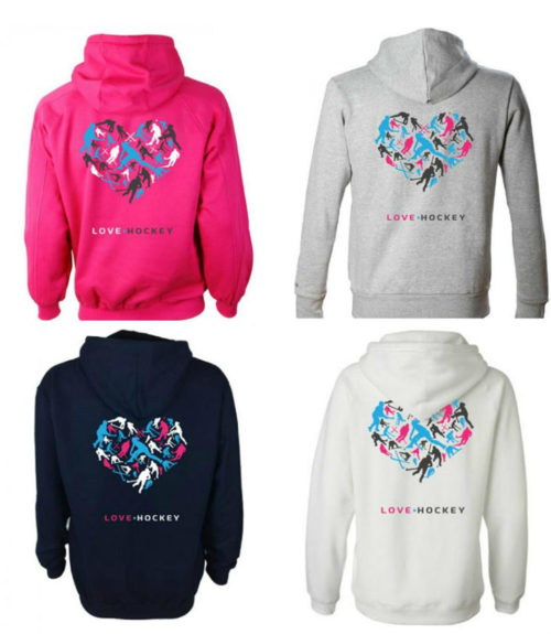 Love Hockey Hoody - Junior & Senior Sizes