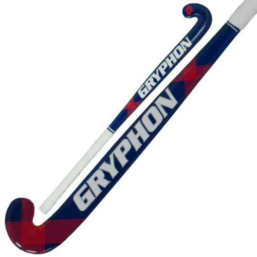 Gryphon Grom Junior Wooden Blue Hockey Stick