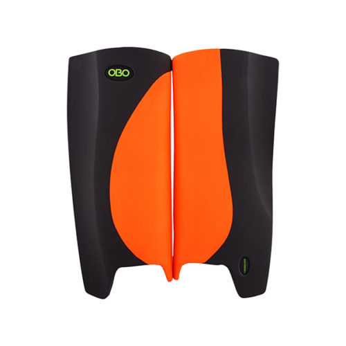 OBO Robo Hi Rebound Hockey Goalkeeping Legguards - Orange/Black