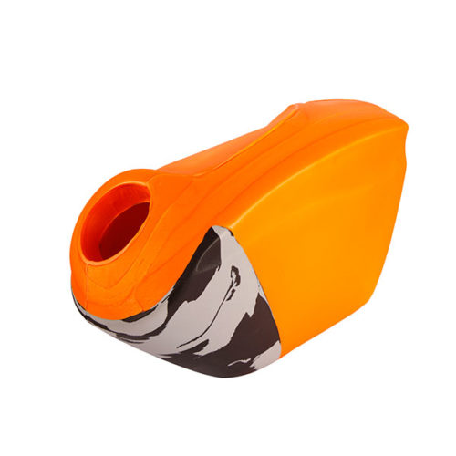 OBO Robo Hi Rebound Right Hand Hockey Goalkeeping Protector - Orange