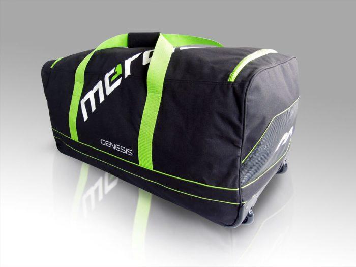 Mercian Genesis 0.1 Goalkeeping Wheeled Hockey Bag - Black\Green