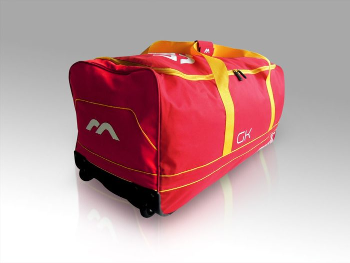 Mercian Genesis 0.1 Goalkeeping Hockey Bag - Red\Yellow