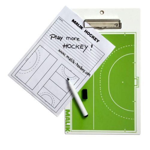 Malik Hockey Coaching Clipboard