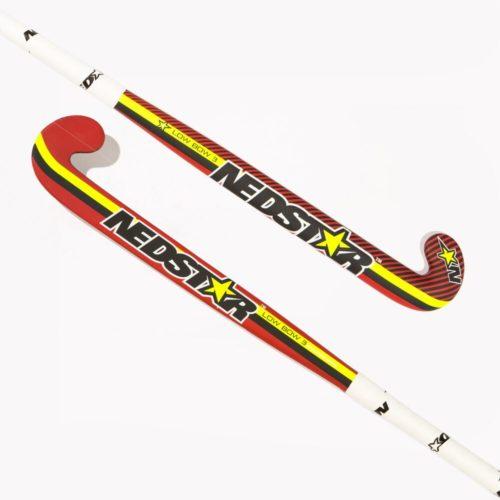Nedstar Low Bow 3 Red Hockey stick