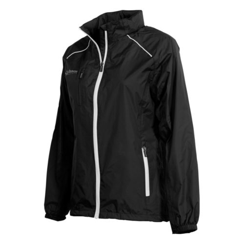 Reece Breathable Ladies Black Tech Jacket