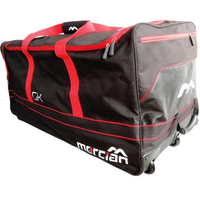 Mercian Evolution Goalkeeping Wheeled Kit Bag - Blue\Orange