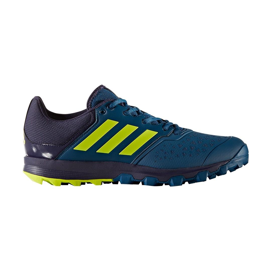 Adidas Flexcloud Hockey Shoes Blue Yellow