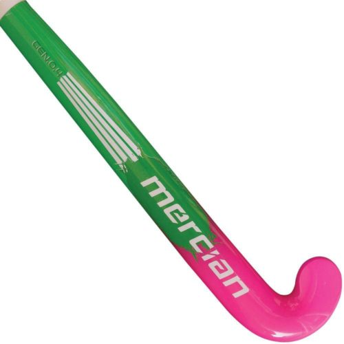 MERCIAN GENESIS 0.4 WOOD HOCKEY STICK - GREEN MACHINE