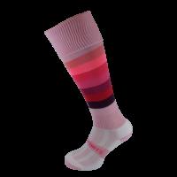Pink Rainbow Hockey Socks