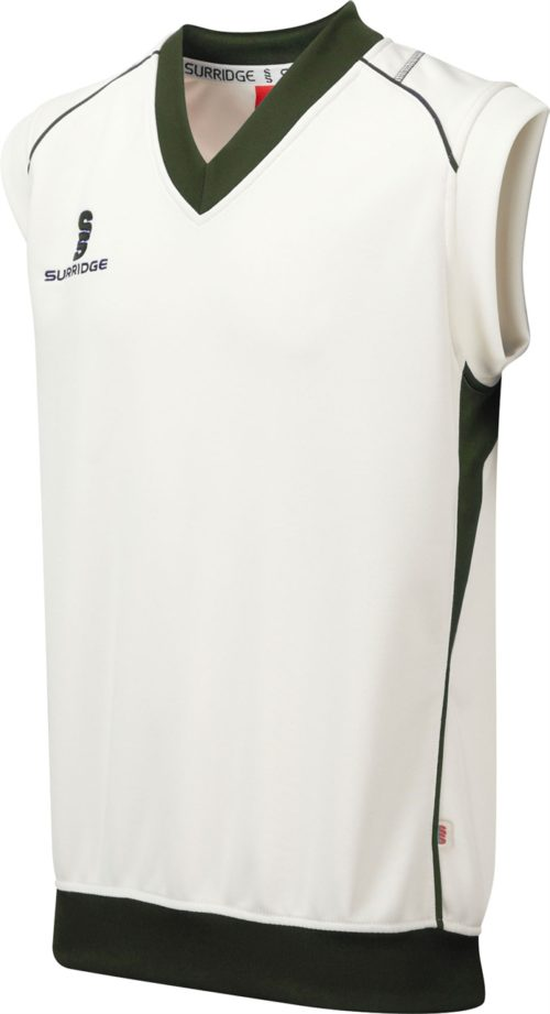 Surridge Curve Sleeveless Cricket Sweater