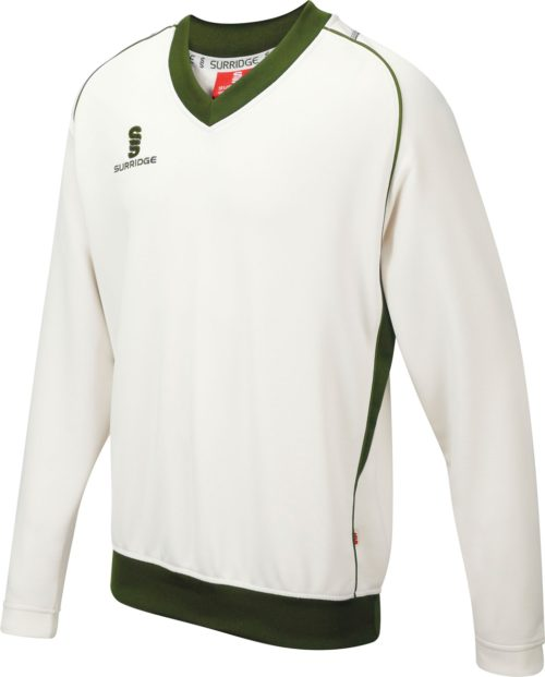 Surridge Curve Long Sleeve Cricket Sweater