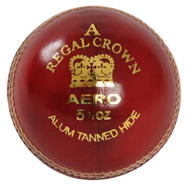 ED Sports Regal Crown Cricket Ball