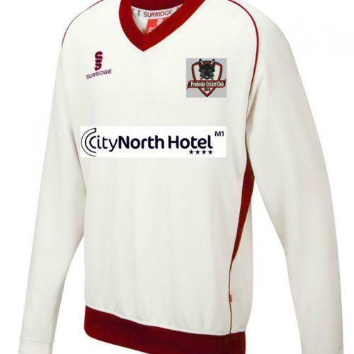 Pembroke Cricket Club Long Sleeved Sweater