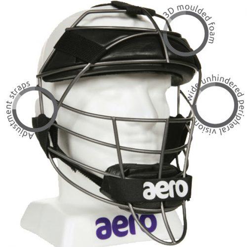 Aero P2 KPR Cricket Wicket Keeping Face Protector - Senior