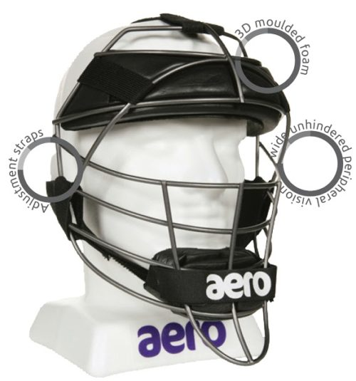 Aero P2 Cricket Wicket Keeping Face Protector