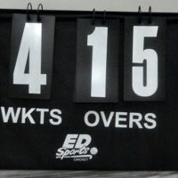 ED Sports Portable Cricket Scoreboard