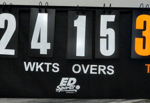 ED Sports Portable Cricket Scoreboard
