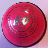 ED Sports Super Test Ladies Pink Cricket Ball